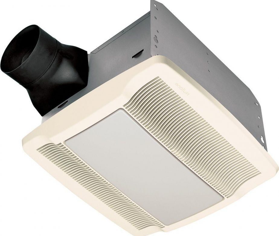 Qt Series Very Quiet 80 Cfm Ceiling Exhaust Bath Fan With Light And Night Light Lowest Price Depot