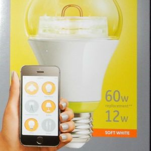 GE Link A19 Smart Connected LED Bulb 12W 60W Soft White Wink